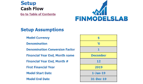 How To Do A Cash Flow Projection General Cash Flow Projection Template Henry Sheykin Medium