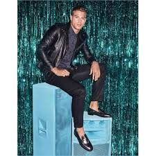 matthew noszka black stylish leather jacket