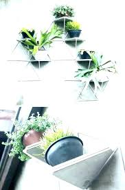 interior wall mounted planters indoor brilliant 10 modern plant holders to decorate bare walls regarding
