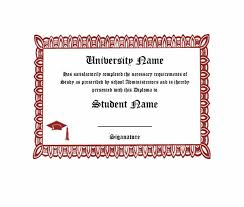 Free Homeschool Diploma Template 30 Real Fake Diploma Templates High School College
