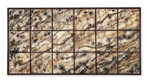 classy design ideas tile wall art modern decoration 44 tiles ceramic by hanging diy artistic blue