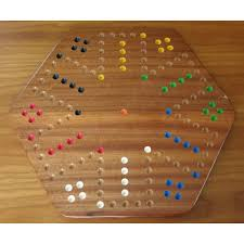 Wooden Game With Marbles Sepele Wood Aggravation Board Game 76