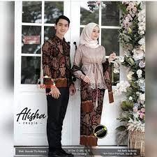 Model kebaya couple ini berbentuk dress. Jual Baju Batik Couple Kebaya Lamaran Kondangan Alisha Terbaru Pasangan Couple Kemejaxl Kota Pekalongan Couple Batik Pekalongan Tokopedia