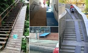 Handicap Ramps Wood Designs Shocking Photographs Show Accessibility Design Fails Daily