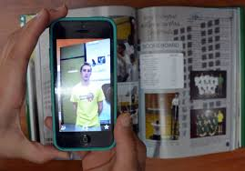 Image result for smart phone over yearbook