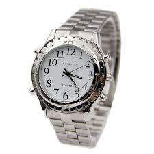 compare prices on mens talking watches online shopping buy low english talking clock for blind or visually impaired watch yourself relogio masculino whole feida