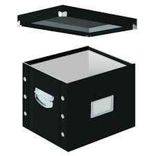 hanging file box.  Hanging SnapNStore LetterLegal Size File Box In Black To Hanging G