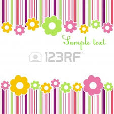 Small Picture Page Border Flowers Clipart 68