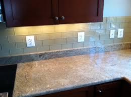 kitchen backsplash glass subway tile. Khaki Glass Subway Tile Kitchen Backsplash