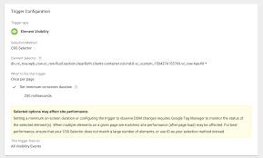 Element Visibility Trigger via GTM: Evaluate UX Features   Elevar