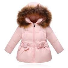 raccon fur collar princess hooded jackets girl winter parka down jacket toddler girl down coats kids child warm white down coat