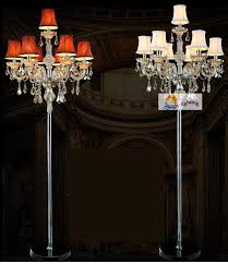2018 french vintage restaurant floor lamp with shade bedroom party cognac crystal floor lighting tall glass candlestick light from grege 781 32 dhgate