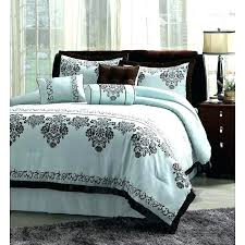 blue and brown comforter sets king brown and blue comforter sets blue brown bedding sets blue