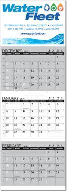 Three Month View Calendars Product Catalog American Calendar