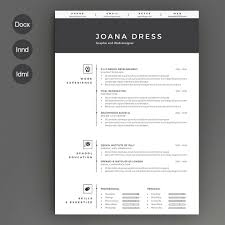 Modern Resume Templates. Creative Resume Template For Word Instant ...