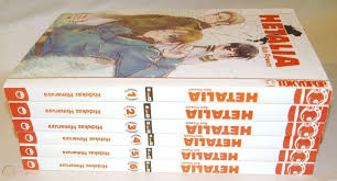Hetalia Volume 1-6 Manga by Himaruya Hidekaz 1 2 3 4 5 6 in English    #1839504375