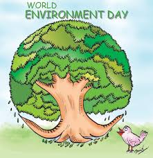 world environment day cartoon graphic