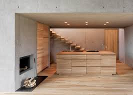guest house kitchen. View In Gallery Two-concrete-cubes-comprise-main-guest-house-11- Guest House Kitchen