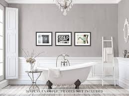 Girly Bathroom Ideas Custom Rustic Bathroom Wall Decor Cottage Bathroom Wall Art Set Of Etsy