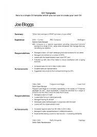 Download Simple Resume Example Haadyaooverbayresort Com 19 A