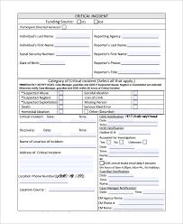 Floridaframeandart Com Free Creative Incident Report Form 10