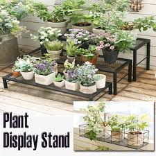 multi layer plant display stand premium steel indoor outdoor movable flowers pot