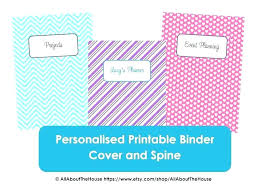 Printable Binder Inserts Chevron Binder Cover Simply The Middle Free Printable Covers