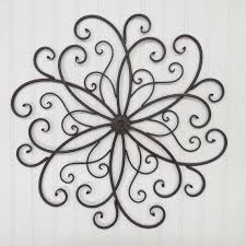 astonishing iron art for walls wrought decor garden wall and wood the metal framed