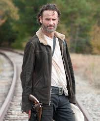 walking dead leather jacket rick grimes