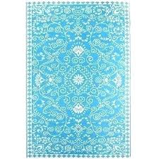 pier 1 outdoor rugs area one new rug turquoise
