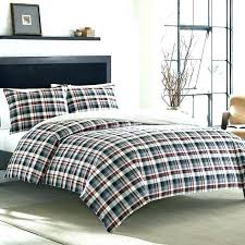 buffalo check flannel duvet cover set plaid home best sets for your covers adorable simplistic