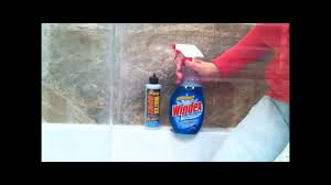 how to remove hard water spots from shower doors glass by using ducky water spot remover for glass you