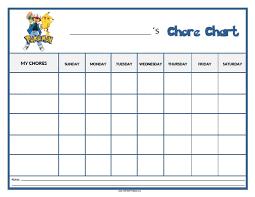 Chore Chart Templates Free Printable Pokemon Chore Chart Free Printable Allfreeprintable Com
