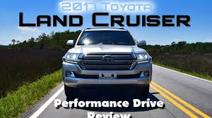 2017 Toyota LAND CRUISER - HD Performance Drive Review - YouTube