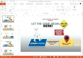 Free Interactive Ppt Templates Animated Road To Success Template Free Interactive