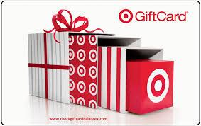check target gift card balance