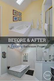 before after a luxury naperville bathroom remodel