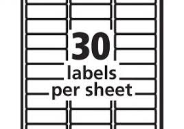 Avery Label 8160 Free Avery Templates 8160 Labels Avery Template 8160