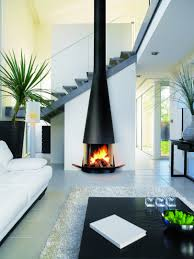 ... Modern fireplace, New White Modern Wood Wall Marble Sofa Chair Table  Book Vases Carpet Rug ...