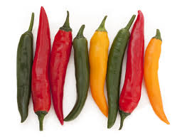 chili peppers.  Peppers On Chili Peppers