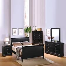black bedroom furniture. thatcher sleigh configurable bedroom set black furniture i
