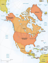 continent of america map. Simple Continent Vector Map Of North America Continent  Pinterest America  And In Of P
