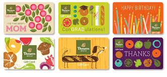 panera bread final gift cards