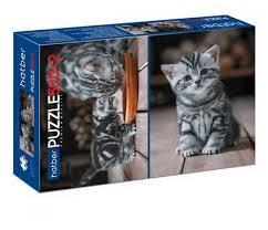 Купить <b>Набор пазлов Hatber</b> Premium 2 в 1 Котиков много не ...