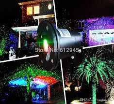 waterproof laser landscape lighting for outdoor sky star green red laser projector stage light for outside garden lawn