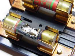 fuse failure the smell of molten projects in the morning burned fuse burned fuse the electric water heater