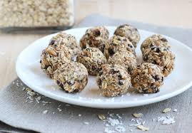 Image result for almond raisin balls