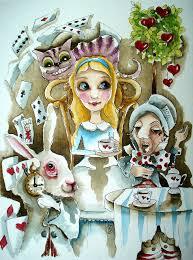 alice in wonderland painting alice in wonderland 1 by lucia stewart