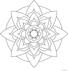Easy Mandala Drawing At Getdrawingscom Free For Personal Use Easy