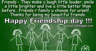 Happy Quotes About Friendship Delectable HAPPY FRIENDSHIP DAY Quotes Images Inspirational Quotes